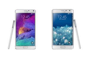 Confronto Galaxy Note 4 e Note Edge