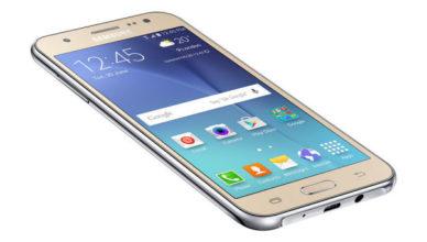 Samsung galaxy j%
