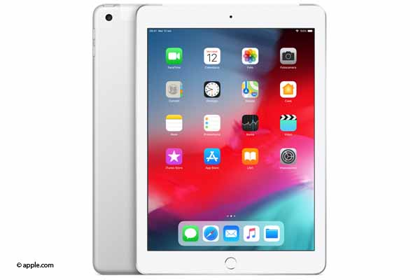 apple ipad 2018 argento