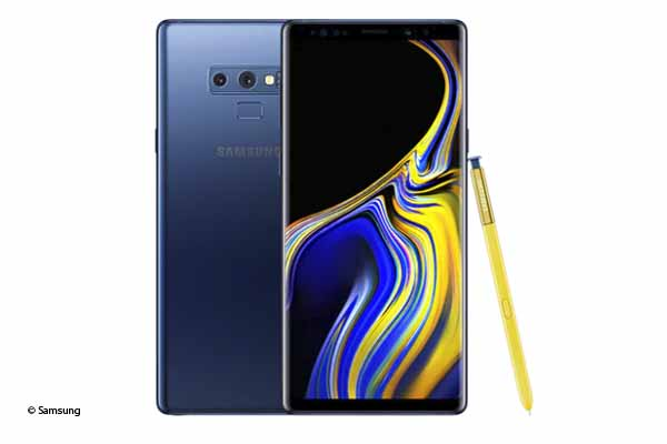 samsung galaxy note 9 -blu