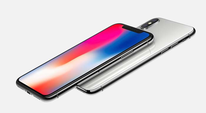 apple iphone x fronte retro