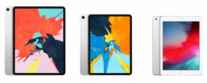 confronto apple ipad e ipad pro