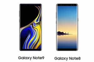 galaxy note 9 vs note 8