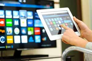 collegamento tablet tv