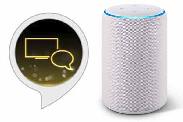 amazon echo comando vocale smart tv