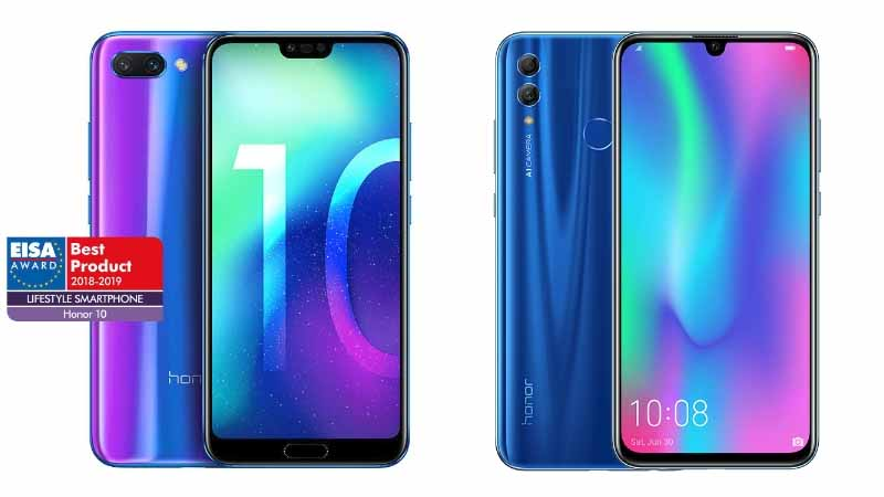 confronto honor 10 e honor 10 lite
